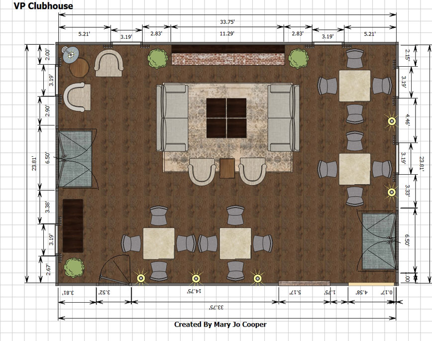 VP Clubhouse CAD